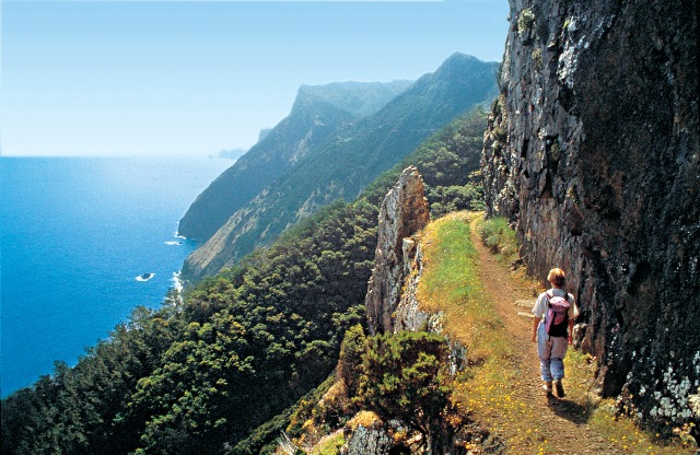 Kuestenweg Larano Madeira